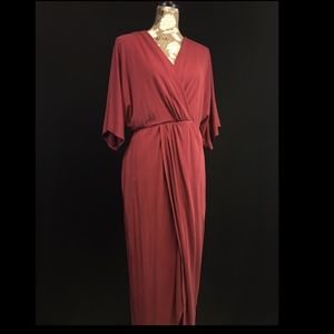 ASTR The Label Wrap Maxi Dress